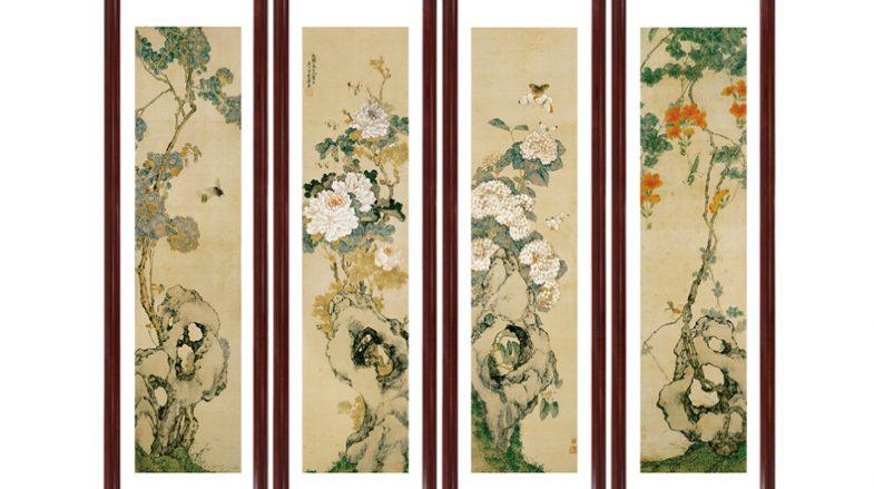 瓷片网瓷板画