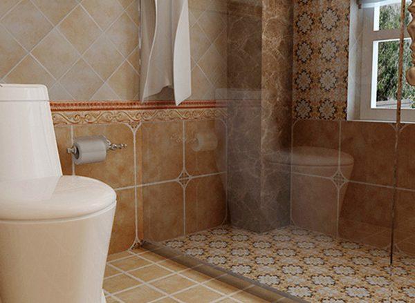 洗手间地板砖