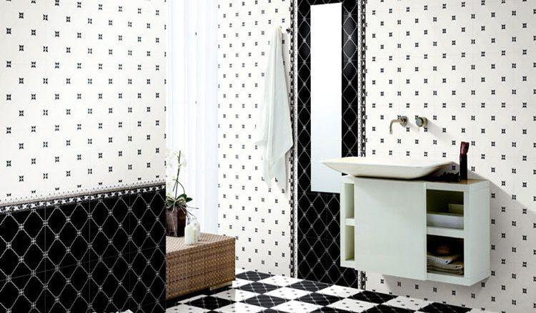 卫生间格子瓷砖