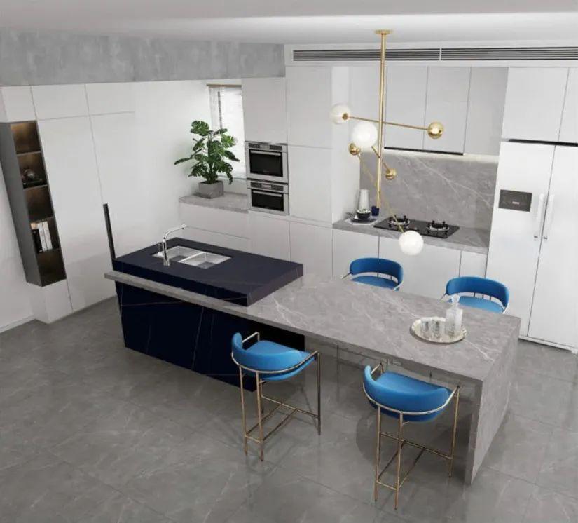 厨房台面岩板